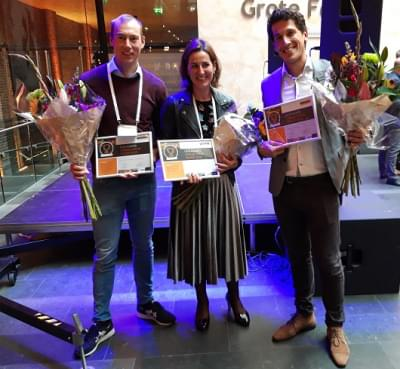 Spanning rond uitslag DNA talent Award